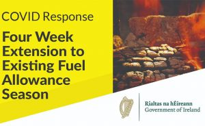 4 week extension to Fuel Allowance